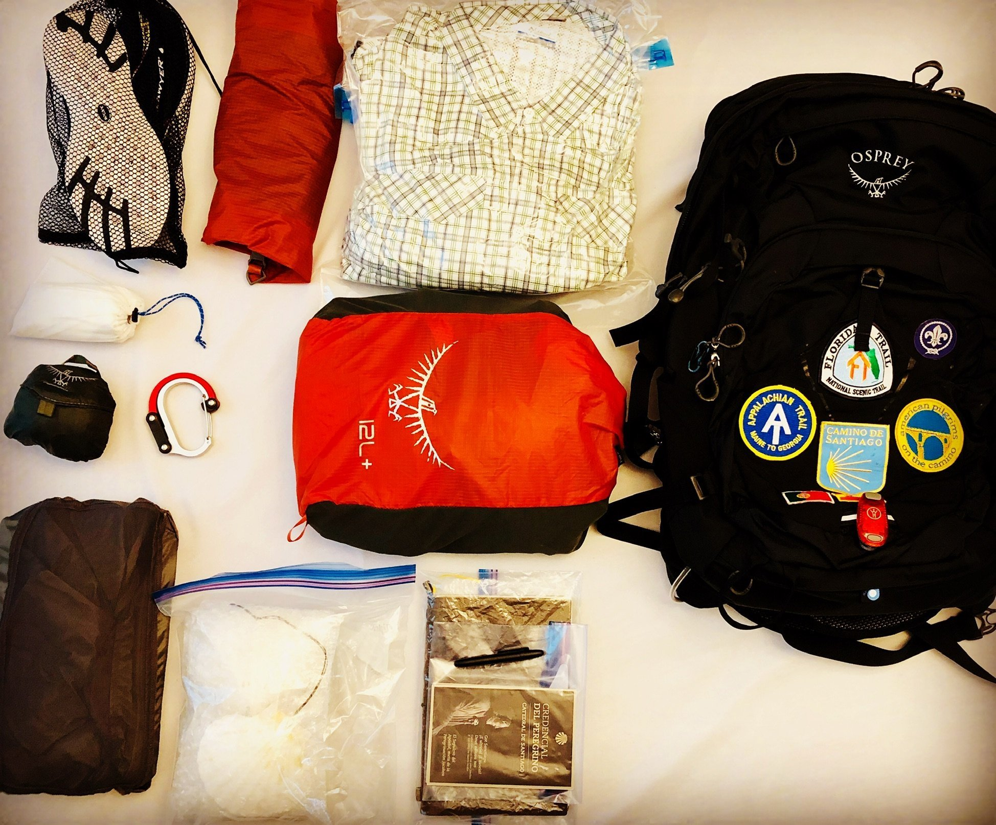 PACKING LIST:  Trekking The World