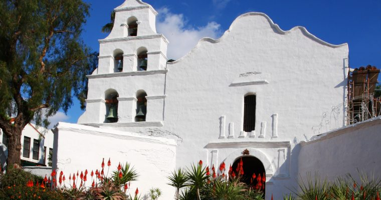 GPS & Google Earth Routes for the California Missions Trail