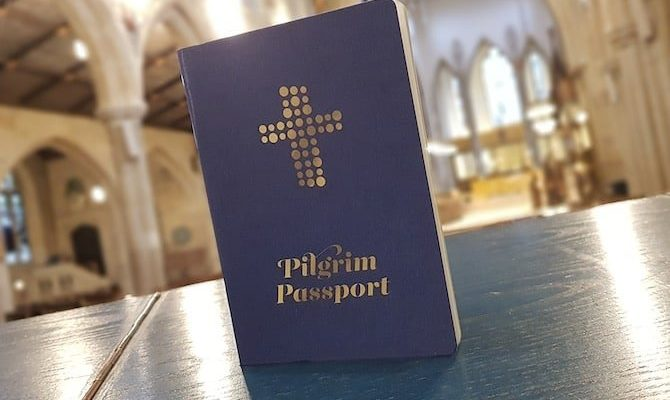 Pilgrims Passport and Stamps along England's Pilgrims Way